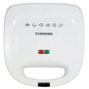 Купить Сэндвичница Starwind SSW 8111 цвет белый