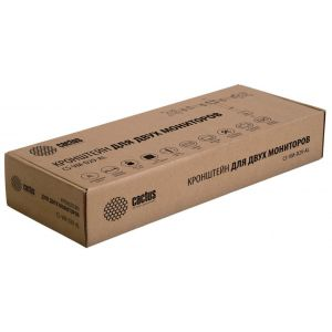 Купить Кронштейн для монитора Cactus CS-VM-D29-AL цвет серебристый