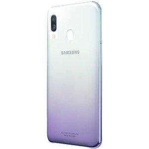 Купить Чехол Samsung Galaxy A40 Gradation Cover цвет фиолетовый