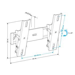 Купить Кронштейн для телевизора Holder LCD-T2611