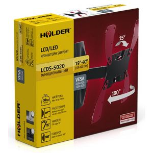 Купить Кронштейн для телевизора Holder LCDS-5020 black
