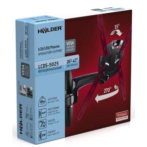 Купить Кронштейн для телевизора Holder LCDS-5025 black