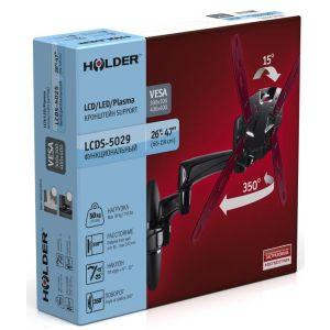 Купить Кронштейн для телевизора Holder LCDS-5029 black