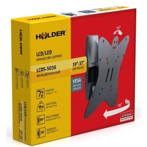 Купить Кронштейн для телевизора Holder LCDS-5036 цвет чёрный
