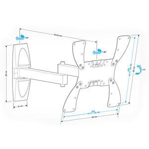 Купить Кронштейн для телевизора Holder LCDS-5046