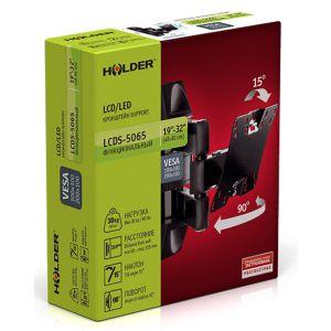 Купить Кронштейн для телевизора Holder LCDS-5065 black
