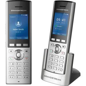Купить Системный телефон Grandstream WP820 цвет серебристый