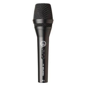Купить Микрофон AKG P3S цвет чёрный