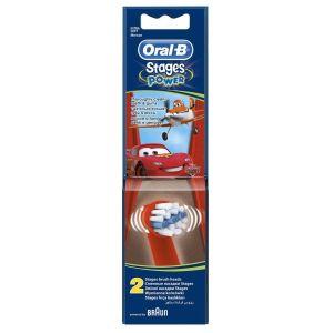 Купить Насадка для зубной щетки Oral-B Kids Stages Cars Miki Princess