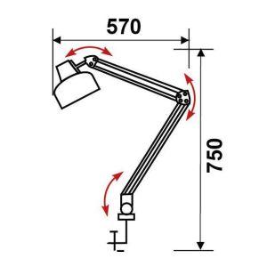 Купить Настольный светильник Трансвит Beta/Gr