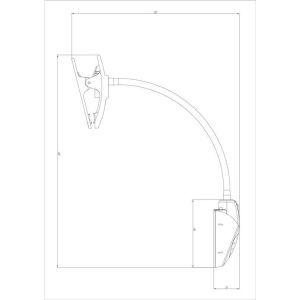 Купить Настольный светильник Трансвит Веста С16 ПШ (VESTAC16-PSH/WT)
