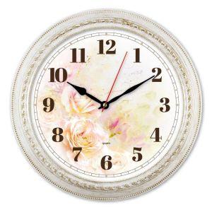 Купить Часы Бюрократ WallC-R64P D29см белый