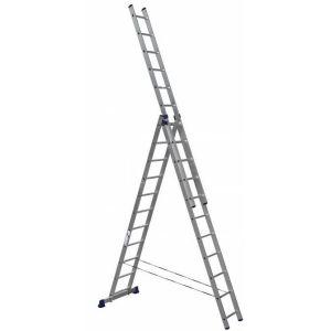 Купить Лестница трехсекционная ALUMET 3х11 (H3 5311)