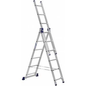 Купить Лестница трехсекционная ALUMET 3х6 (H3 5306)