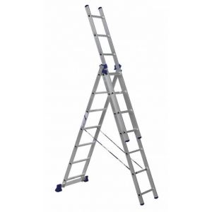 Купить Лестница трехсекционная ALUMET 3х7 (H3 5307)