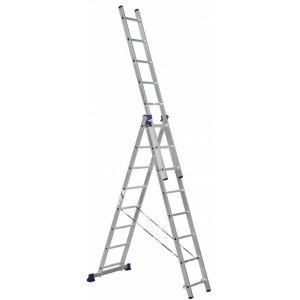 Купить Лестница трехсекционная ALUMET 3х8 (H3 5308)