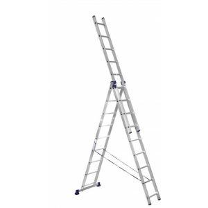 Купить Лестница трехсекционная ALUMET 3х9 (H3 5309)