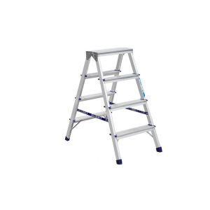 Купить Лестница-стремянка ALUMET двухсторонняя 4-х ступенчатая AD7204