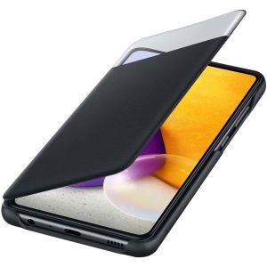 Купить Чехол для телефона Samsung Galaxy A72 Smart S View Wallet Cover (EF-EA725PBEGRU) цвет чёрный