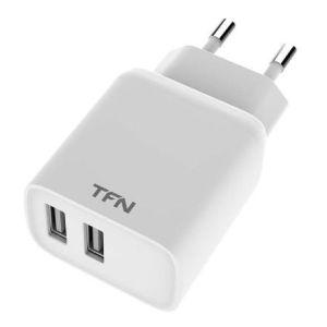 Купить Сетевое зарядное устройство TFN TFN-WCRPD12W2UWH цвет белый