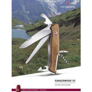 Купить Нож перочинный Victorinox RangerWood 55 (0.9561.63)