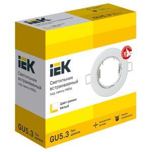 Купить Светильник IEK LUVB0-GU05-1-K01