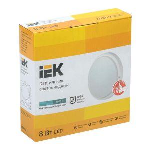 Купить Светильник IEK LDPO0-4001-8-4000-K01