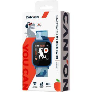 Купить Смарт-часы Canyon My Dino CNE-KW33BL цвет blue