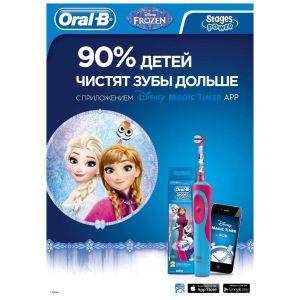 Купить Насадка для зубной щетки Oral-B EB10K Frozen 2 шт.