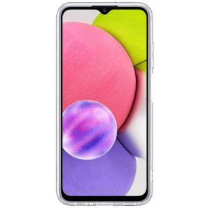 Купить Чехол Samsung Galaxy A03s (EF-QA037TTEGRU) цвет прозрачный