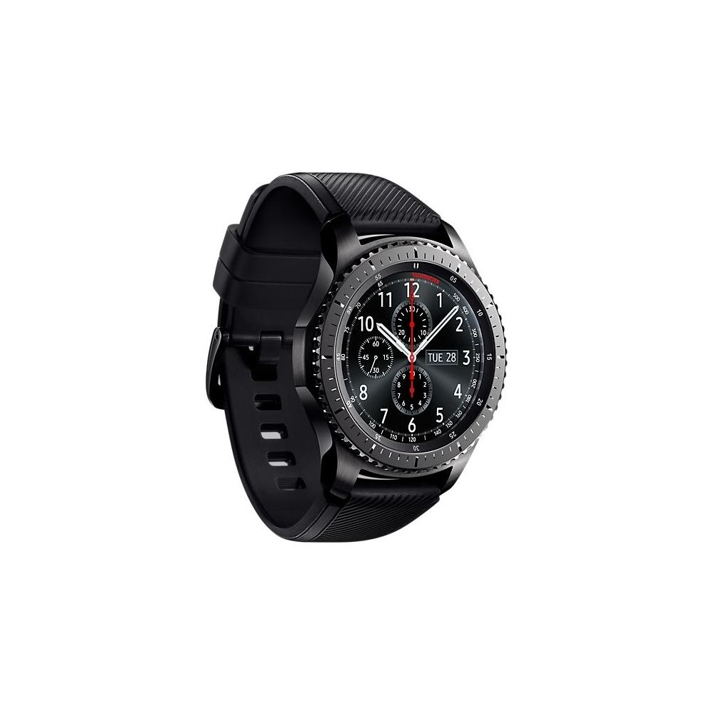 Умные часы Samsung Gear S3 Frontier цвет серый - купить в Корпорации Центр  по низкой цене fd743c6d1ac8b