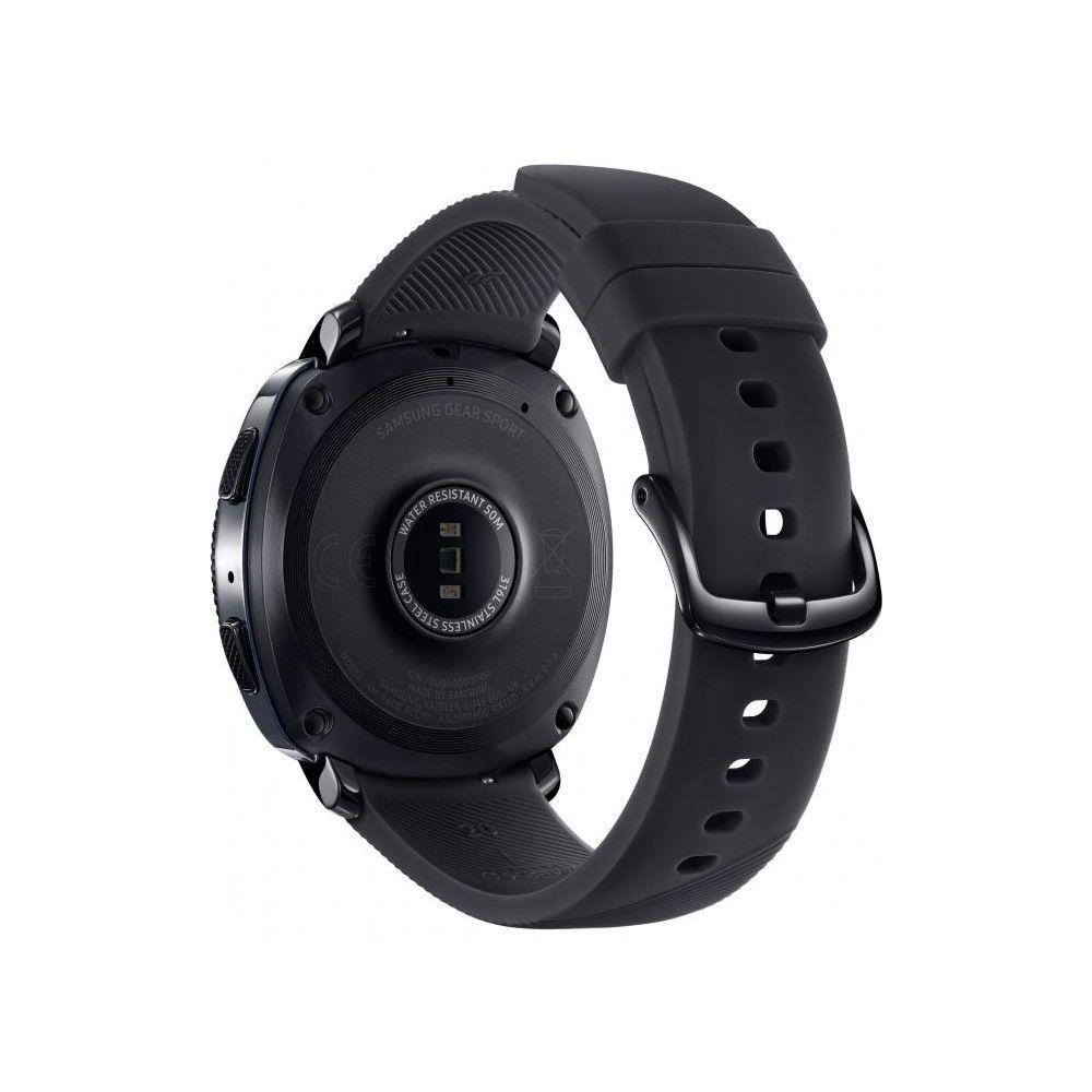 Умные часы Samsung Gear Sport цвет чёрный - купить в Корпорации Центр по  низкой цене 9a65e597e3b9f