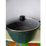 Набор посуды Casta 006 Elizone цвет черный мрамор