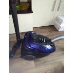 Пылесос с пылесборником Samsung VC20M25 цвет синий/черный