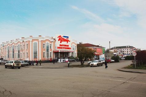 Улица Октябрьская, дом 103, ТЦ «Метрополис»